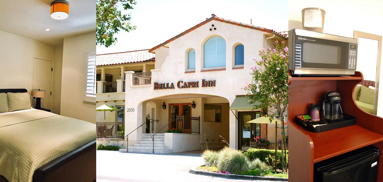 Bella Capri Inn & Suites Exterior