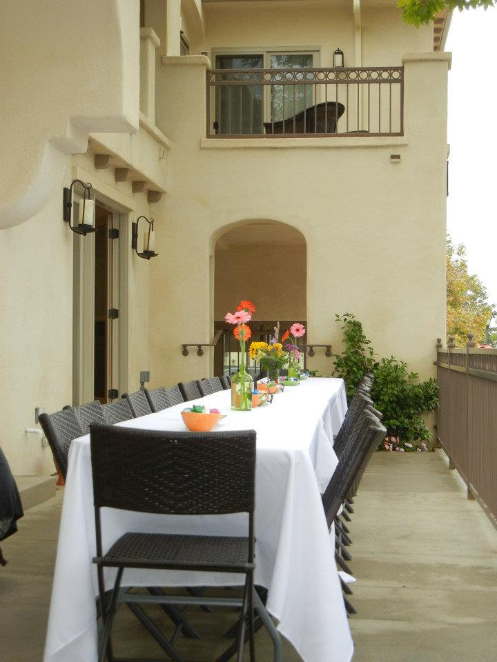 Outdoor Event Space at Bella Capri Inn