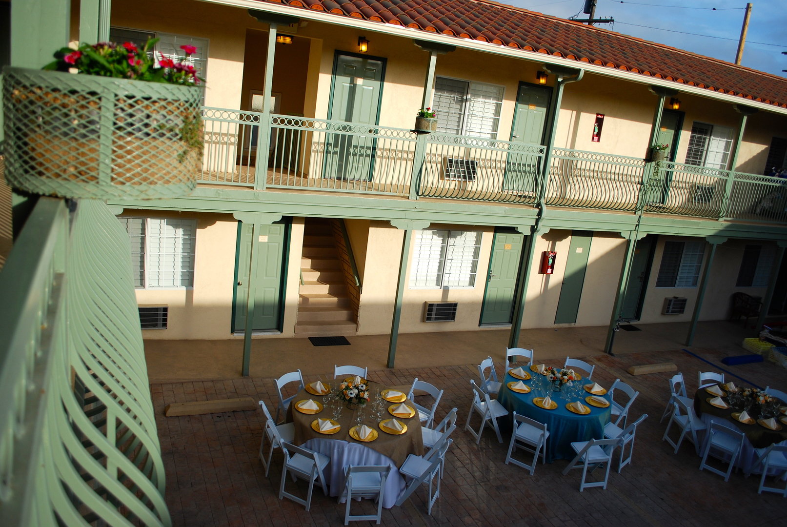 Outdoor Event Space at Bella Capri Inn & Suites